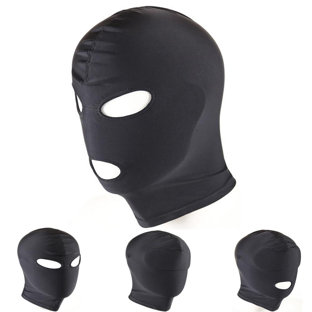 Buy Guver Fetish Mask Sexy Head Mask Slave Open Mouth Sex Bondage Mask Cosplay Punish Headgear Mask Adult Sex Products