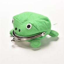 Frog Wallet Anime Cartoon Coin Purse