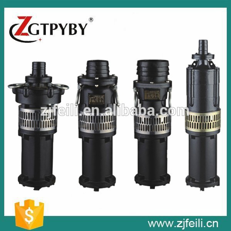 QY series oil-filled immersed submersible pump 4KW mining used submersible pump  pump for field irrigation  цены