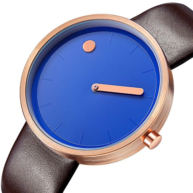 GEEKTHINK Dameshorloges Elegant Kleurrijk Eenvoudig Blauwgroen Japan - Herenhorloges - Foto 4