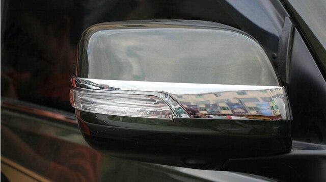 Car rear view mirror cover,auto rear mirror trim for  toyota Land cruiser FJ200 ,ABS chrome,2pc/lot,free shipping