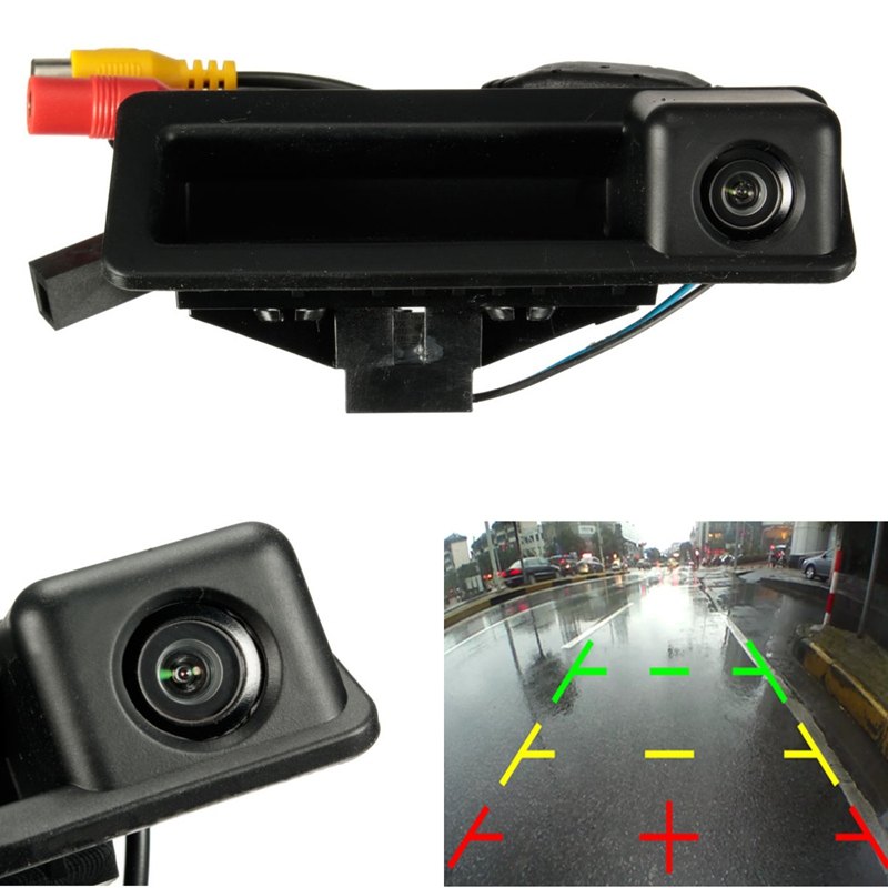 Car Backup Reverse Camera 170 Degree Wide Angle HD CCD Rear View For BMW E82 E88 E84 E90 E91 E92 E93 E60 E61 E70 стоимость