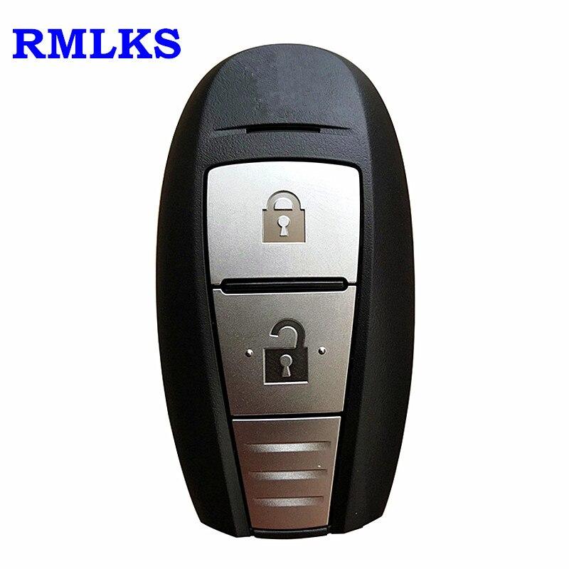 Пульт дистанционного ключа оболочки Uncut подходит для SUZUKI SX4 Свифт Vitara S-CROSS дистанционный смарт ключ-Брелок чехол