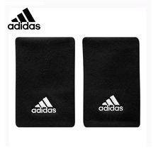 Original New Arrival Authentic Adidas Unisex Tennies Sports Wrist Support 1 Pair