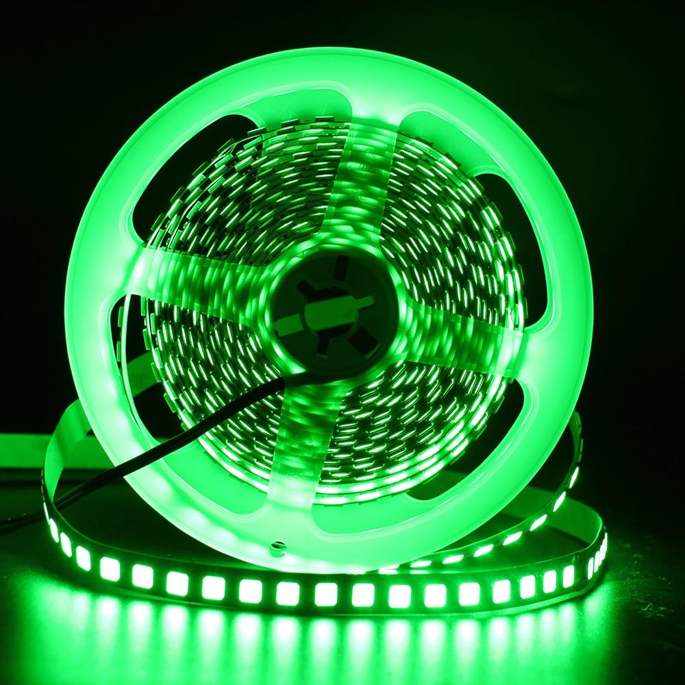 HTB1BwXzdZIrBKNjSZK9q6ygoVXac 5M 600 LED 5054 LED Strip Light Waterproof DC12V Ribbon Tape Brighter Than 5050 Cold White/Warm White/Ice Blue/Red/Green/blue