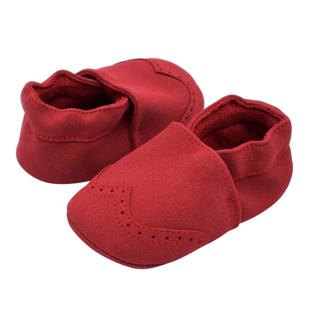 Autumn Baby Shoes Indoor Warm Toddler Nubuck Leather Shoes Infant Girl Boy Soft Sole Anti Slip Shoes Baby Moccasins First Walker sayoyo brand genuine cow leather baby moccasins snail toddler infant footwear soft soled baby boy shoes pre walker free shipping