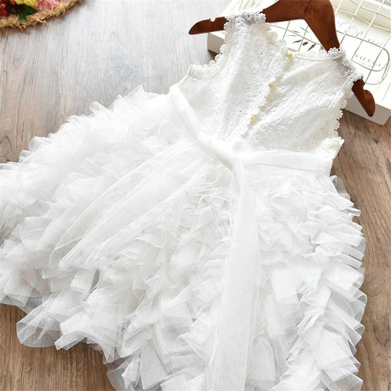 2bebf7a45b977 Tutu Fluffy Kid Dresses Girls Clothes Party Princess Birthday Children 6  Years Clothing Little Girl Frocks Baby Dress Vestidos