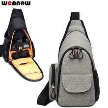Wennew фото случае Камера сумка рюкзак сумка Грудь сумка для Nikon COOLPIX P1000 P900 P900S D750 D4 D3 D3s D3x
