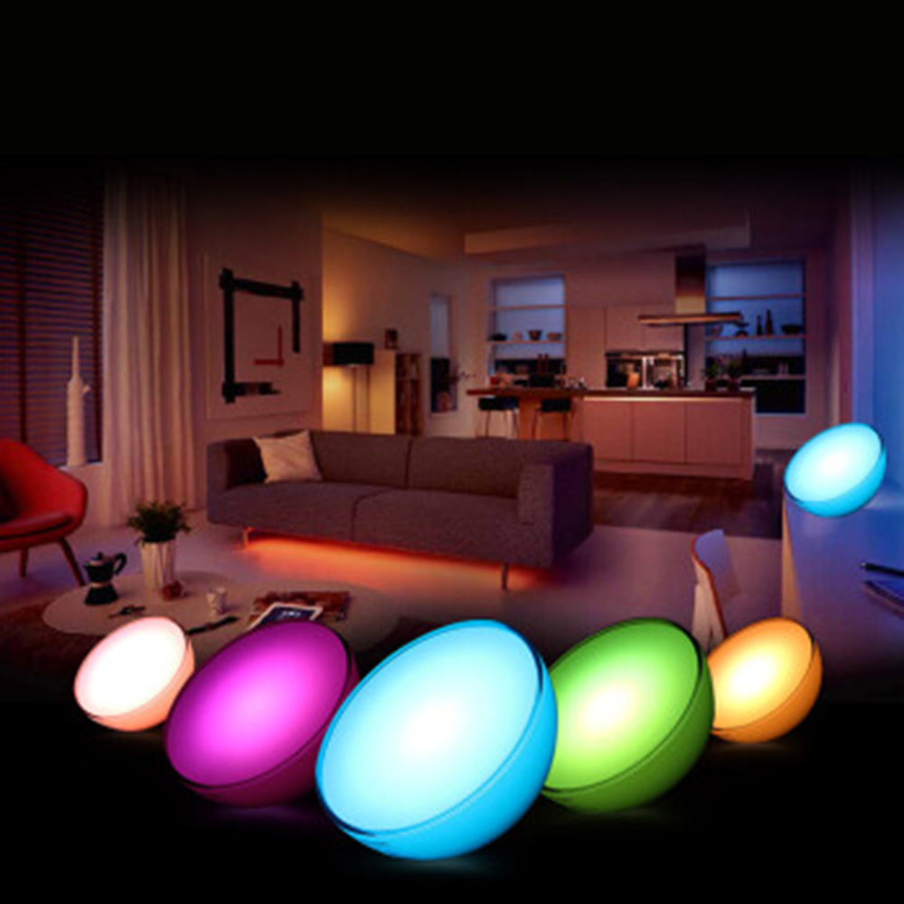 2018 New Philips Hue Portable Dimmable Table Lamp Bridges Compatible With Alexa Le Homekit And Google Istant In Led Night Lights From