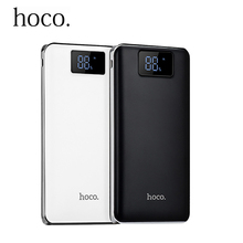 Original HOCO 20000mah Power Bank External 18650 Lithium Pack Pover bank Powerbank Fast Charger For iphone xiaomi Samsung LG