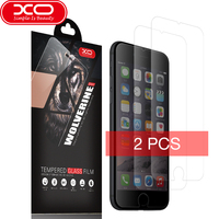 XO Tempered Glass 2.5D 0.1mm Thickness Ultra thin 9H Nano coating Premium Screen Protector for iPhone 7 7 Plus Phone Glass Film