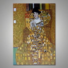 Gustav Klimt Oil painting on Canvas Hand painted The Kiss 02