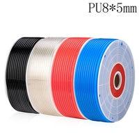 20 meters Pneumatic parts 8mm PU Pipe for air pneumatic hose 8*5 Compressor hose
