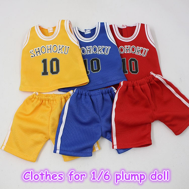 Clothes For Plump Blyth Sportwear Basketball Clothes 3 Colors