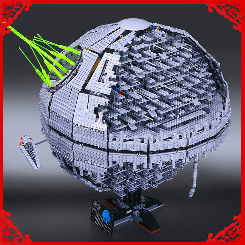 LEPIN 05026 Star Wars UCS Death Star II Model Building Block 3449Pcs Educational  Toys For Children Compatible Legoe lepin 22001 pirate ship imperial warships model building block briks toys gift 1717pcs compatible legoed 10210