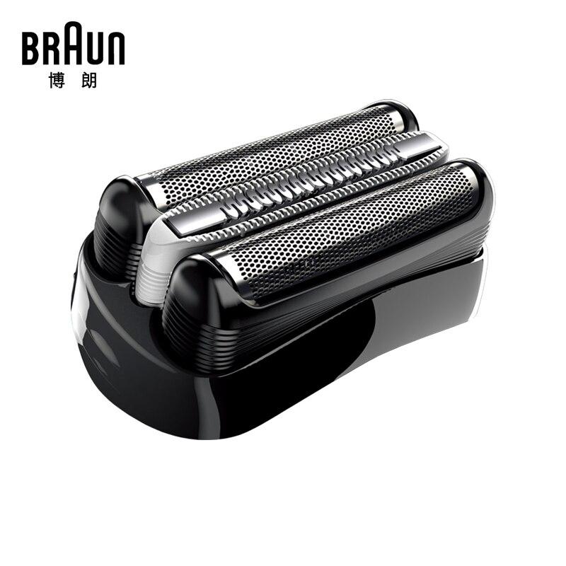 Braun 32 S/32B/21B Ersatz Rasierklinge Folie Für Serie 3 Rasierer (320 330 340 350CC 360 370 380 390CC) Trimmer BT32