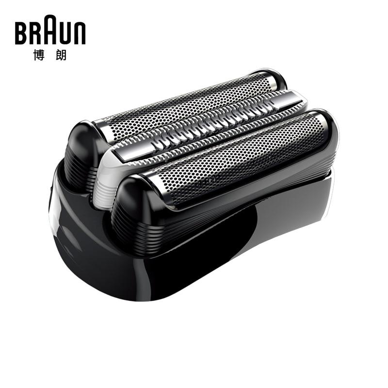 Braun 32S/32B/21B Replacement Razor Blade Foil For Series 3 Shaver(320 330 340 350CC 360 370 380 390CC) Trimmer BT32 new 1 x series 5 combi shaver foil 51s for braun replacement pack 8000 360 530 570 560 590 8985 free shipping