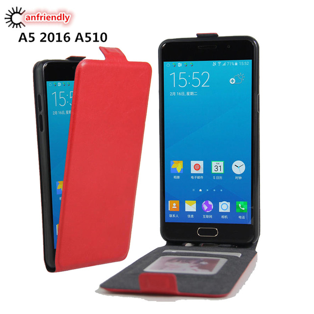 new arrival 62303 92295 US $2.46 35% OFF|For Samsung A5 2016 Vintage Flip Leather Cover Case For  Coque Samsung Galaxy A 5 A5 6 2016 A510 SM A510F Phone Coque Capa Shell-in  ...