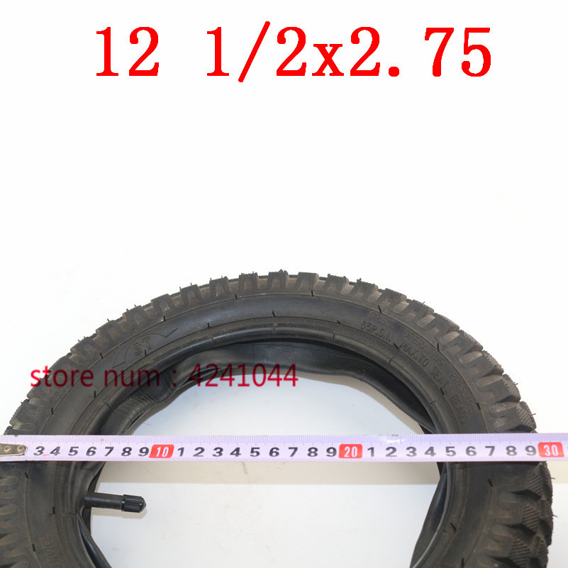 Image 3 - 12 1/2 x 2.75 tyre 12.5 x 2.75 Tire or Inner Tube For 49cc Motorcycle Mini Dirt Bike Tire MX350 MX400 Scooter-in Tyres from Automobiles & Motorcycles