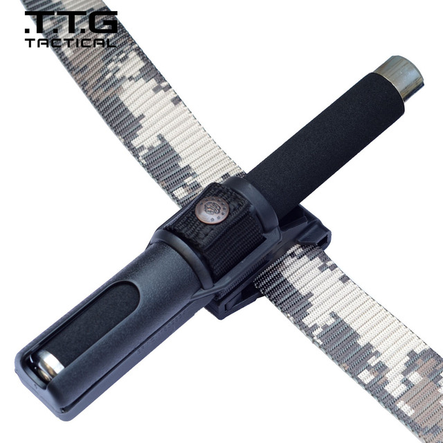 High Quality 360 Degree Rotating Telescopic Baton Holster For Telescopic Baton (NOT INCLUDED) Police Duty Belt Baton Pouch
