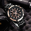 Rose Gold Military Sports Waterproof Wrist Watch