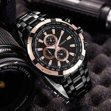 CURREN Модные мужские часы лучший бренд класса люкс 2019 Best розовое золото часы Военная Униформа спортивные наручные часы водонепроница…