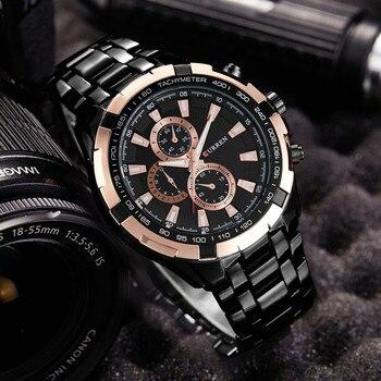 0abcf6df66f8 CURREN moda de hombre relojes superior de la marca de lujo de 2019 mejor  reloj de oro rosa militar reloj de muñeca deportivo resistente al agua reloj  ...