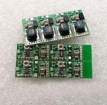Regulowany 445nm 450nm 473nm 1W 1.4W 2W niebieska dioda laserowa sterownik 2.5A 5.5V doładowania obwodu 3.7V