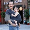 2016 Real Sólidos 4-6 Meses 7-9 Meses Hot Sale Toalha elástica Dois Infantil Mochilas 100% Mochila Infantil Portador de Bebê Baby Sling envoltório