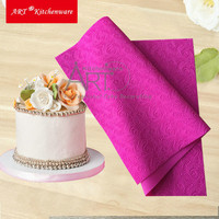 New Arrive Fondant Mould Lace Mat Impression Mats Silicone Lace Mat Cake Lace Mold Silicone Sugar