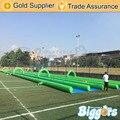 Бесплатная Доставка Горячей Продажи 1000 ФУТОВ Slip-n-Slide Inflatable Slide Города На Лето Водные Игры