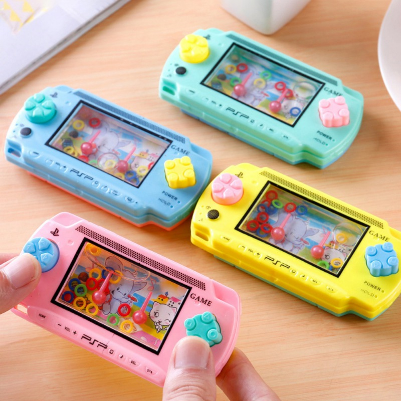 Classic Toy Vintage Water Game Machine Share Childhood Memory Funny Ability Develop Challenge Ring Game Kids Favorite Toy