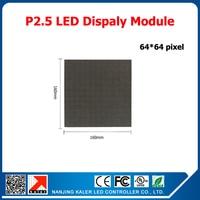TEEHO P2.5 RGB LED display module 160*160mm 64*64 pixels 1/32 scan high bightness led video wall indoor