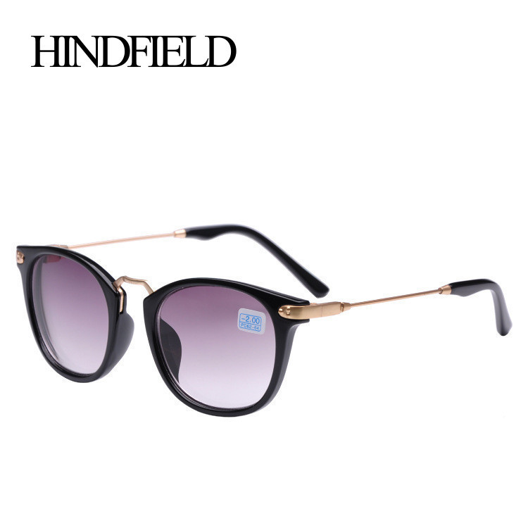HINDFIELD Fashion Myopia Sunglasses For Women Men Brand Design Reading Prescription Sun Glasses -1.0 -1.5 -2.0 -2.5 -3.0 -3.5