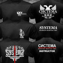 2019 Fashion Double Side New Systema Spetsnaz Russian Army Martial Art Hand To Combat T-Shirt Unisex Tee