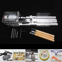 Mini Lathe Wood Lathe Table Saw Cutting Machine Polisher DIY Tool For Polishing Cutting Woodworking