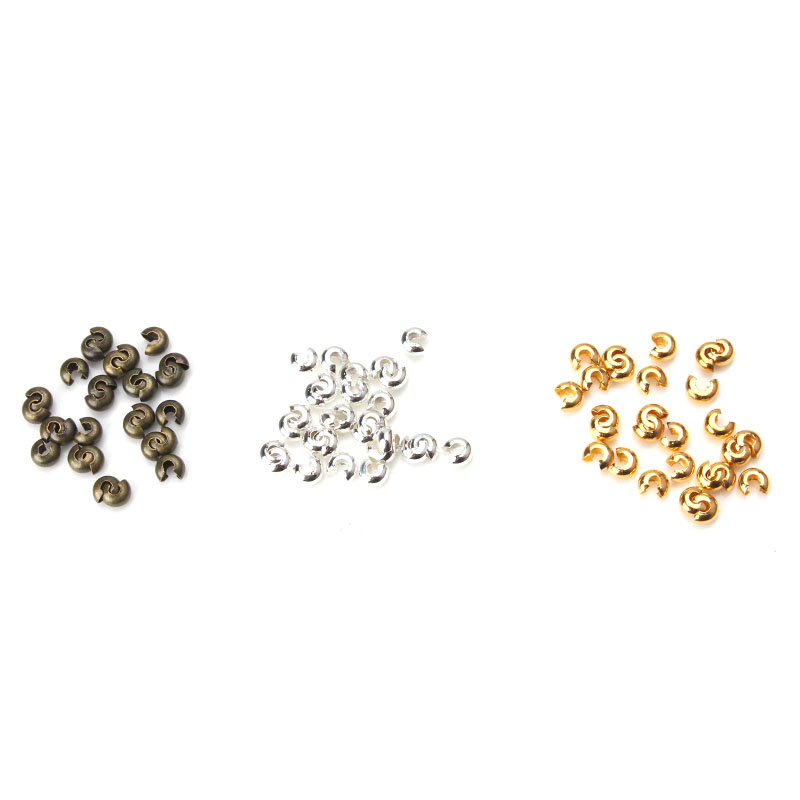 20pcs/lot 5*4mm High Quality Metal Accessories Beads Spacer Beads Diy Jewelry Making Components