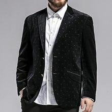 Hombres grandes ropa masculina boda sola PANA chaqueta de terciopelo grande  estupenda ocasional alta calidad Size3XL-6XL 7XL e708e05ca08