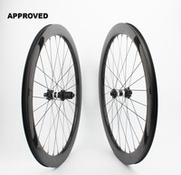 Farsports FSC50 CM 25 DT350 Tubeless Disc braking 50mm cycling carbon wheel,6 bolts Thru axle carbon cyclocross clincher wheel