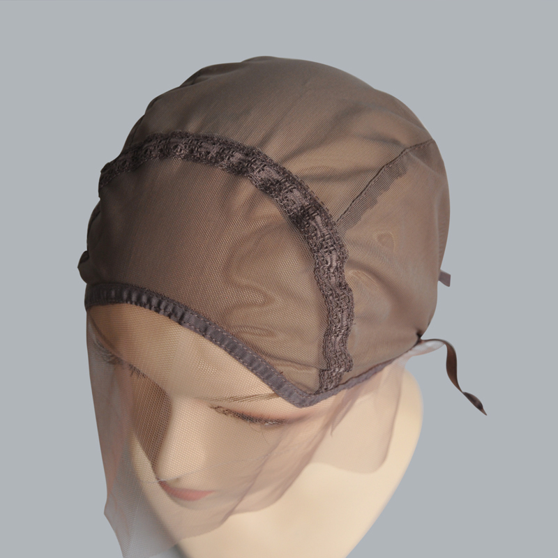 Size S/M/L Lace Front Wig Cap For Making Wig With Adjustable Stretch Strap Glueless Weaving Cap Swiss Lace Cap
