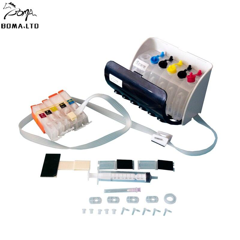 Чип для системы СНПЧ boma.ltd, чип для автоматического сброса для Canon PIXMA MG5450 MG5550 MG6450 MG6650 MG7150 MG5650 IP8750, 5 видов цветов