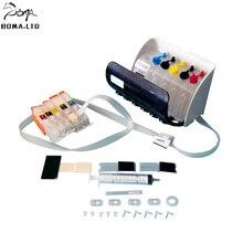 boma.ltd 5Color Ciss System Auto Reset Chip For Canon PIXMA MG5450 MG5550 MG6450 MG6650 MG7150 MG5650 IP8750 PGI-550 CLI-551 стоимость