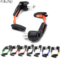 Aluminum Universal 7 8 22mm Motorcycle Proguard System Brake Clutch Levers Protect Guard For Yamaha FJR1300