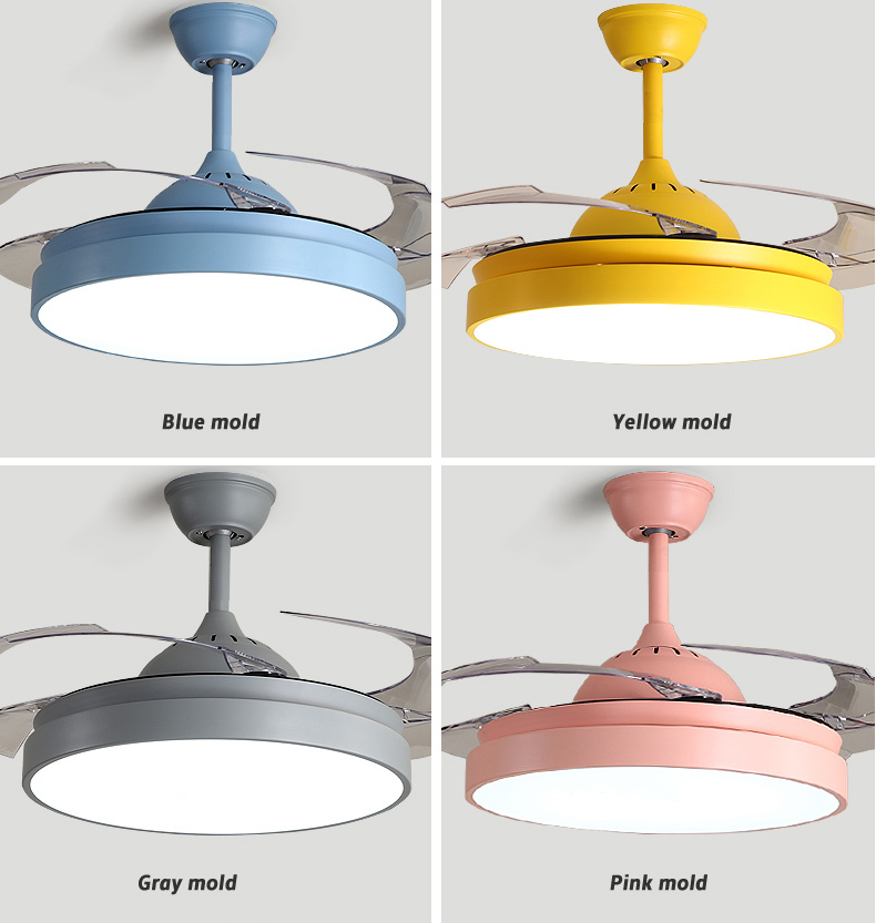 Simple Creative Ceiling Fan Light Morden Living Room