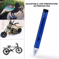 3D Pen Low Adjustable Temperature Printer Pen Drawing Pen With Original Box Christmas Gift For Kids