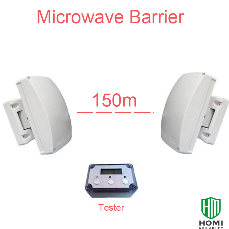 Focus MCB-150 Outdoor Microwave Beam Weather & Attack Proof Housing 150 Meter Long Distance Guarden Farm Microwave Barrier