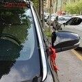Нержавеющая сталь Передняя головка стекло лобовое стекло колонна рамка отделка окна 2 шт для Toyota Highlander 2015 2016 2017 2018