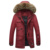 Envío libre Marca parka hombres hombres chaqueta de Invierno caliente gruesa chaqueta de Algodón Acolchado Chaqueta de marca para hombre parka abrigo 140hfx