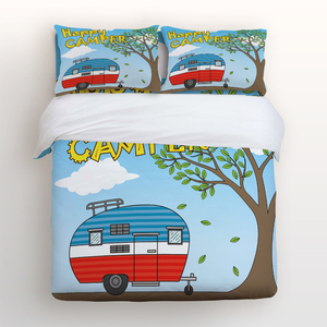 Duvet Cover Set with Zipper Cl