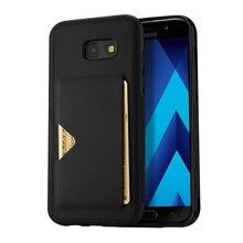 Для Galaxy A5 (2017) Чехол dux DUCIS pocard серии Слот для карты pu кожа ТПУ чехол для Samsung Galaxy A5 (2017) SM-A520 5.2»